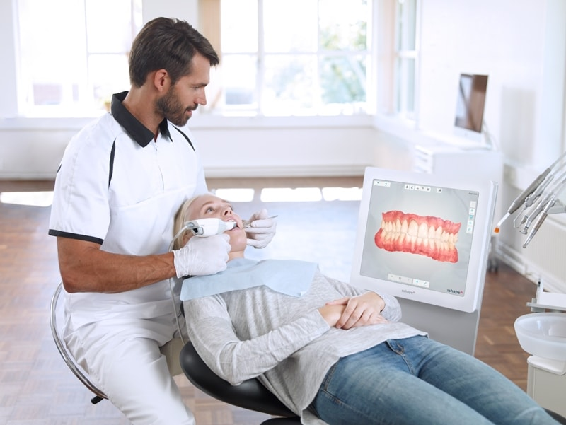 scanner intraolare studio dentistico spinetto dentista chiavari