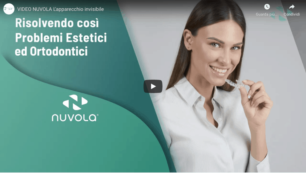 Allineatore invisibile Nuvola® Studio dentistico Spinetto