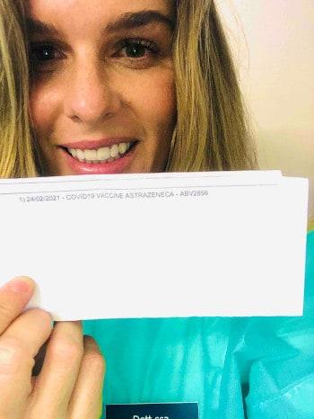 Giulia Spinetto vaccino COVID19 dentista chiavari